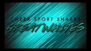 CheerSport Sharks GreatWhites 2017-18
