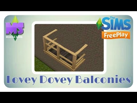 The Sims Freeplay – Lovey Dovey Balconies Quest