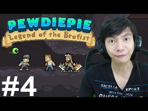 PewDiePie Legend of the Brofist - IOS Android Indonesia Gameplay Part 4 - 동영상