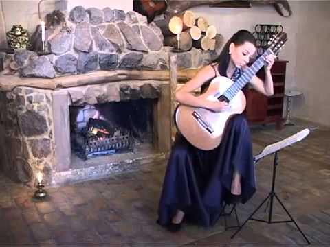 female spanish classical guitarist dubai youtube