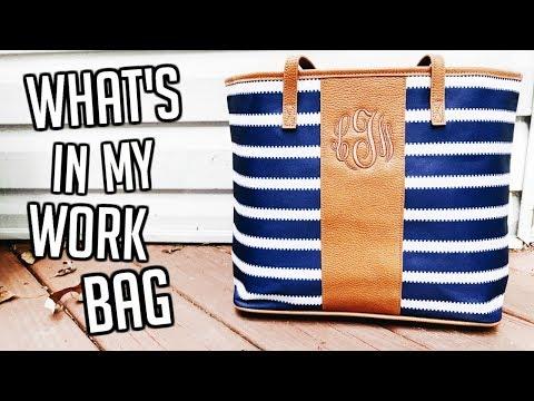 What's In My Work Bag, What's In My Bag, What's In My Purse