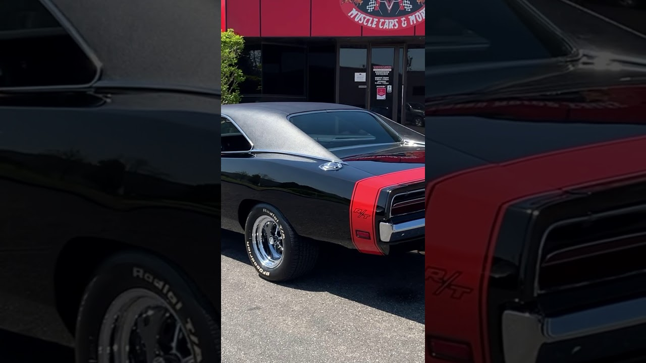 1969 Dodge Charger R/T HEMI Exhaust *sound on*  #shorts