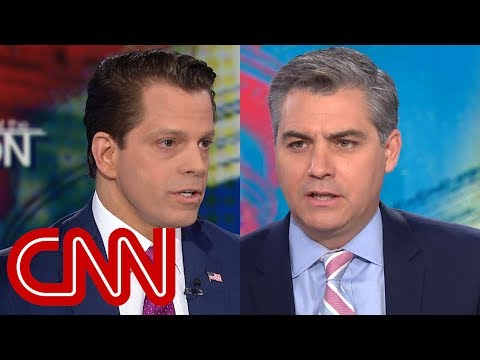 Acosta to Scaramucci: Did Trump have affair with porn star?