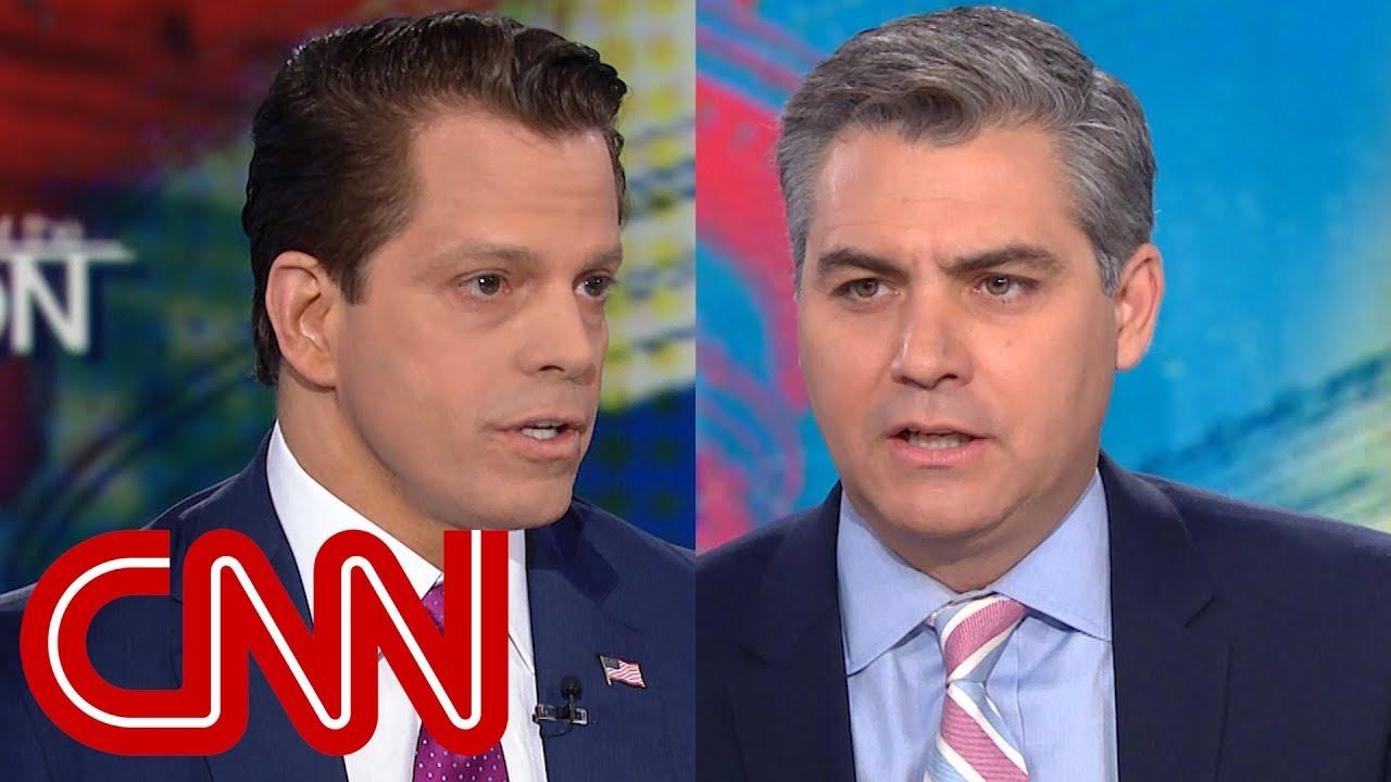 Acosta to Scaramucci: Did Trump have affair with porn star? - Dauer: 6 Minuten, 49 Sekunden
