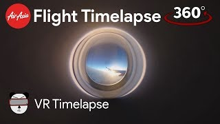 360° Flight Time Lapse: Sunset Above The Clouds | Bay of Bengal thumbnail