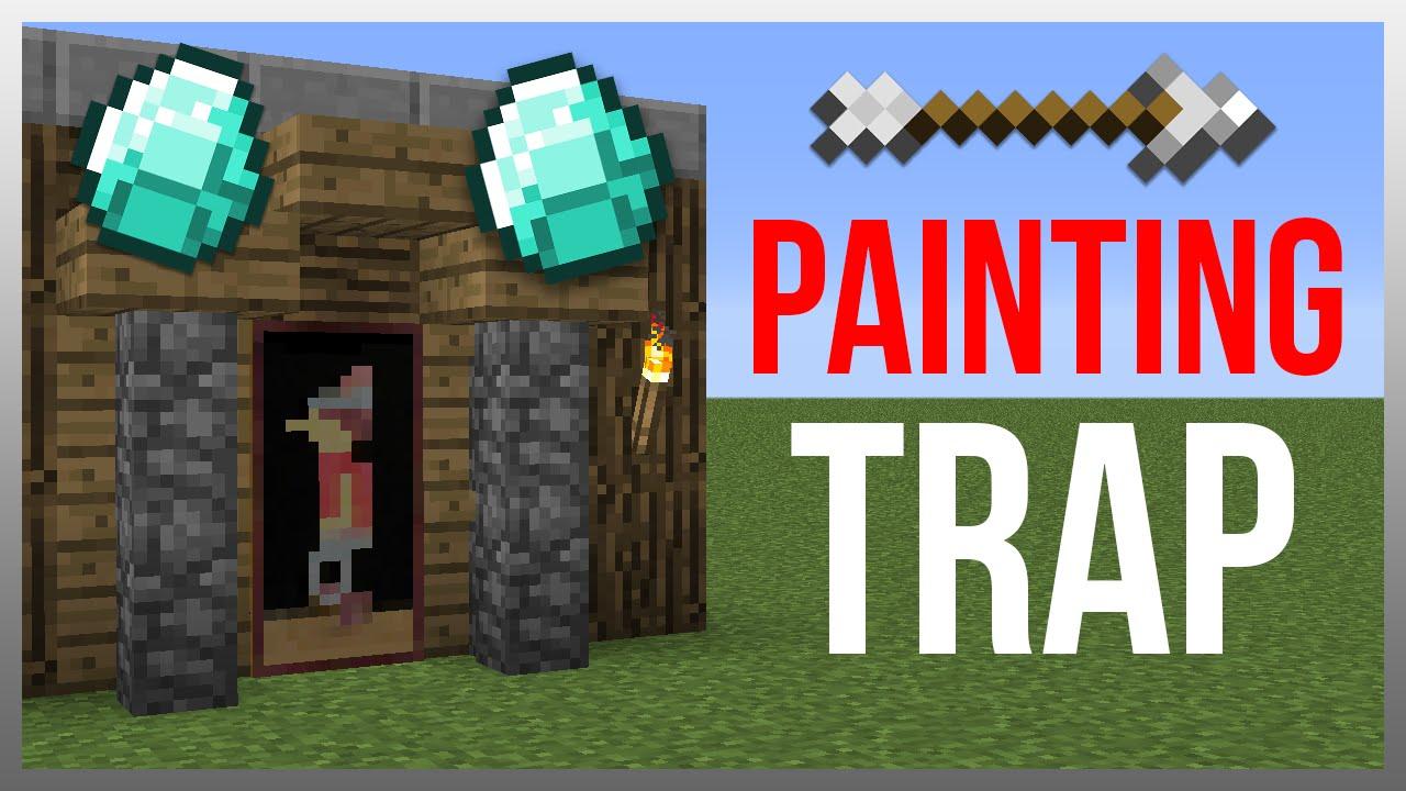 Minecraft 1 12 Redstone Tutorial Painting Arrow Trap