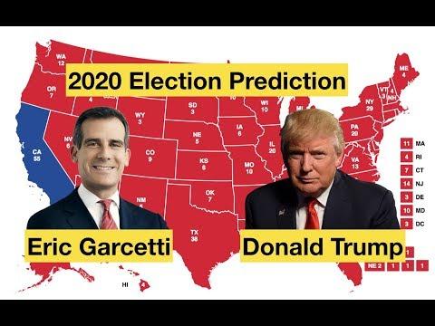Eric Garcetti vs Donald Trump | 2020 Election