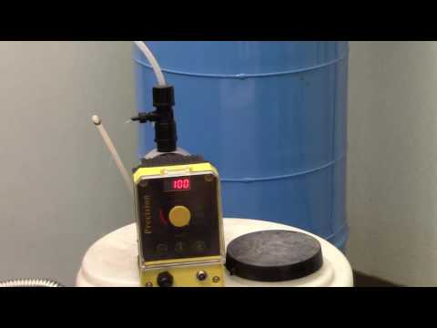 How to Prime the Precision 24 Chlorinator Pump - YouTube