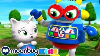 Ding Dong Bell Song! | +More KiiYii: Nursery Rhymes & Baby Songs | ABCs & 123s | Moonbug Kids TV