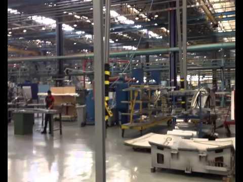 Alenia Nola-  Presentazione dello stabilimento e dei nuovi impianti