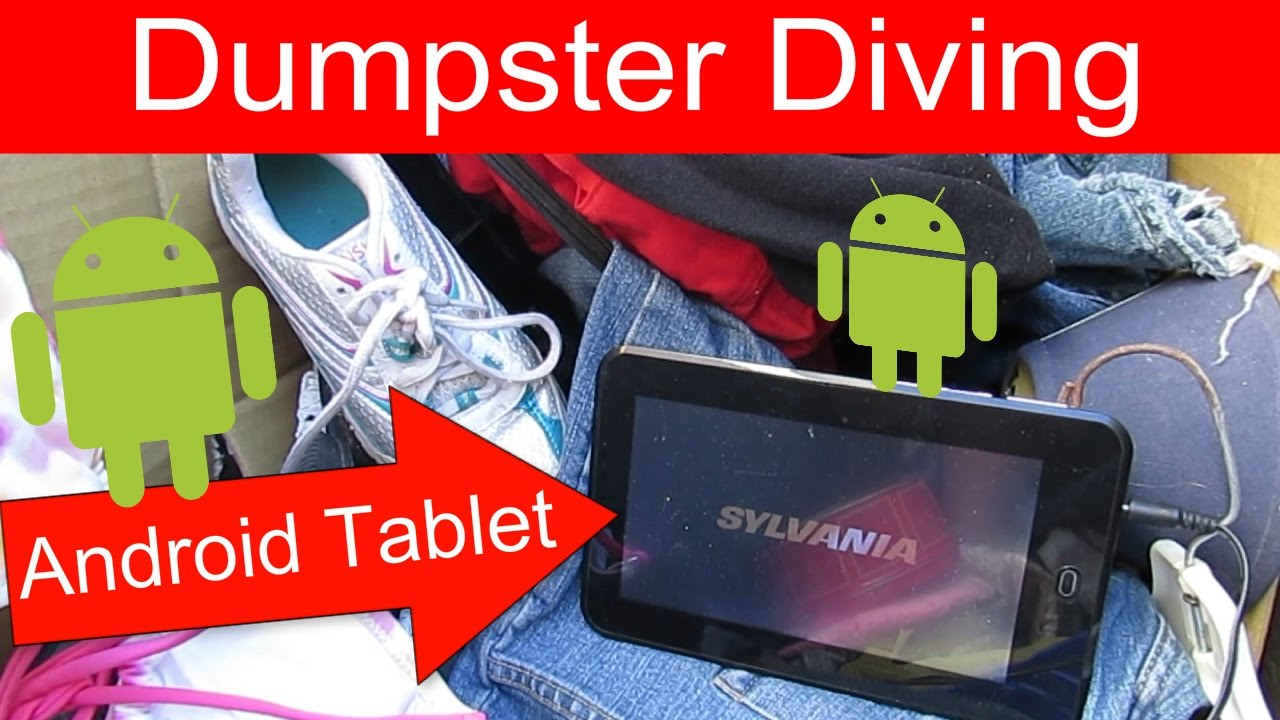 dumpster diving at thrift store android tablet dumpster diving at thrift store 24 android tablet