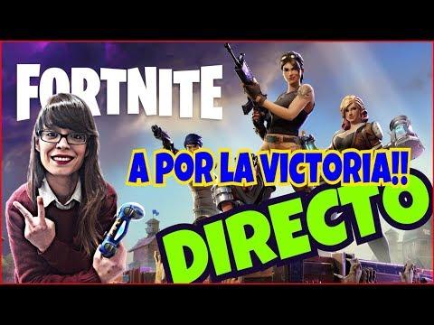 FORTNITE !!A POR LA VICTORIA!! |GAMER GIRL | LETS GO!