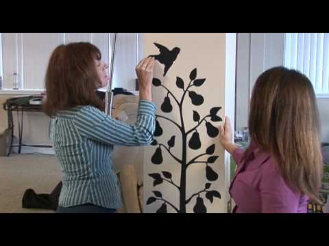 How To Installing And Removing Wall Stickers YouTube - How to remove wall decals