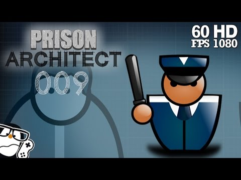 Prison Architect Alpha 34 #009 - Die Zellenblockerweiterung [Deutsch|German] Let's Play