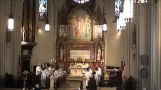 """When I survey the wondrous Cross"" @ St. John's Detroit"