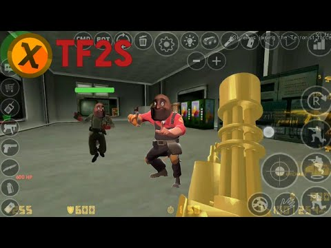 Team Fortress 2 Strategy Xash3d Android Youtube