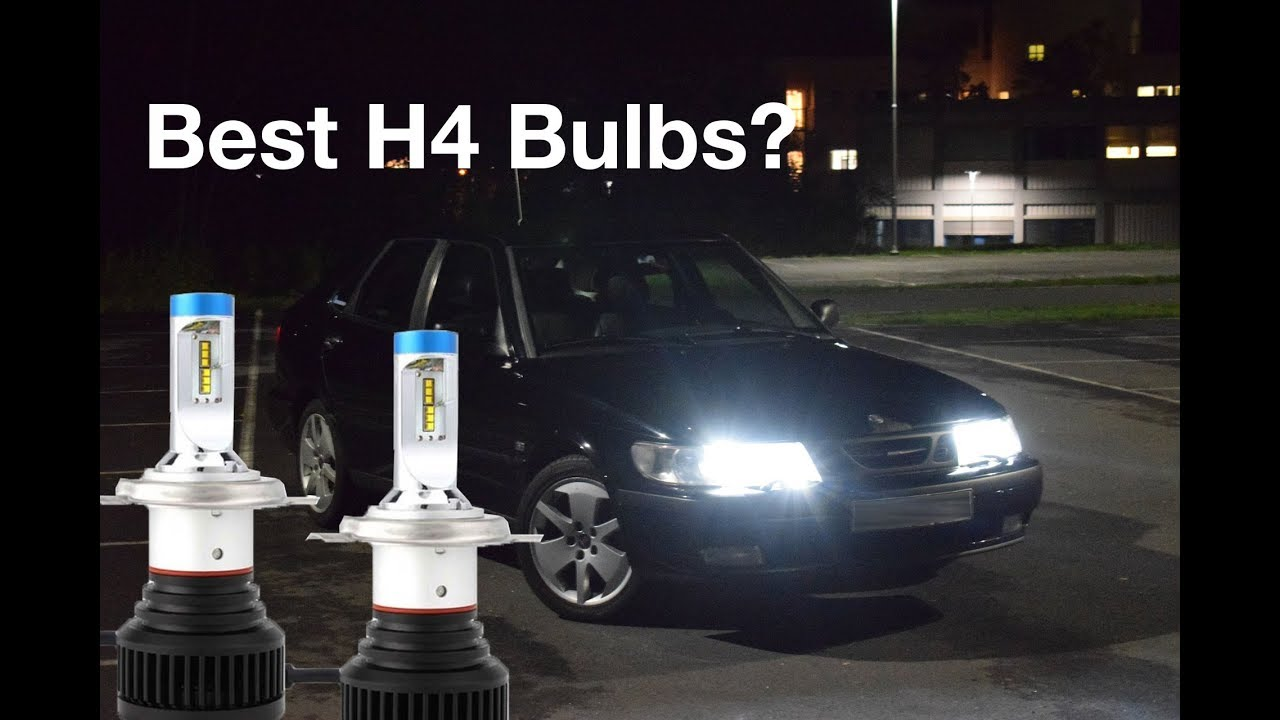 Best Led Bulb Replacement For H4 Halogen Test on Saab 9