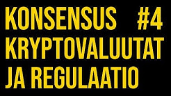 #4 Maanantai-illan Konsensus: Kryptovaluuttojen regulaatio, verotus ja alan yrittäminen