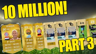 INSANE 90 RATED PACK PULL!!! Fifa 15 - 10 Million Coin Pack Opening Highlights - Part 3 Thumbnail