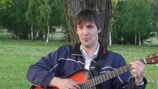 Белая ночь. Женя поет песни по гитару.