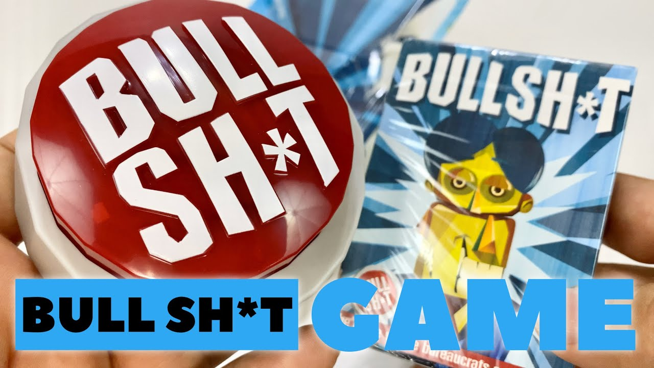 Bull Shit Card Game with Buzzer Button Review