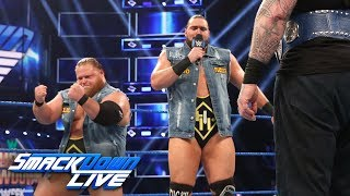 Heavy Machinery challenge Daniel Bryan & Rowan: SmackDown LIVE, May 28, 2019