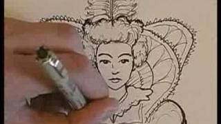 How to Draw a King & Queen : How to Draw Details on a Queen