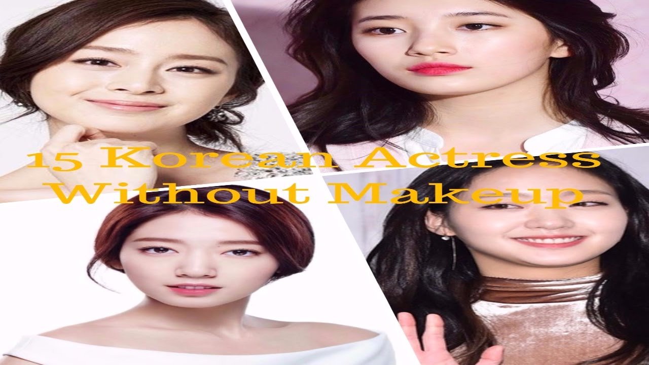 15 korean actress without makeup before & after may shock you