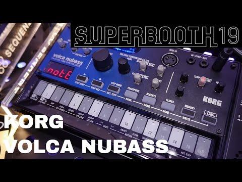 Superbooth 2019 - Korg Volca NuBass