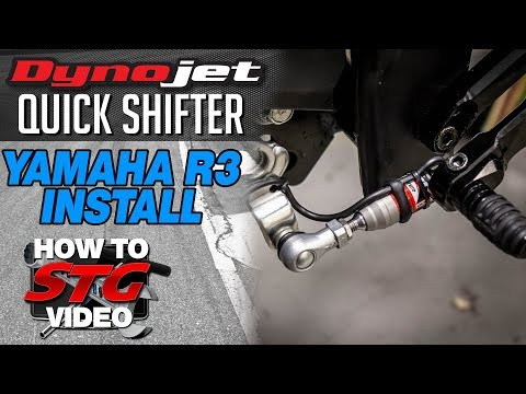 Dynojet Yamaha R3 Power Commander V Quick Shifter Sensor Install | Sportbike Track Gear
