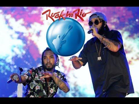 Miguel e Emicida  Rock in Rio 2017  (FULL/COMPLETO)