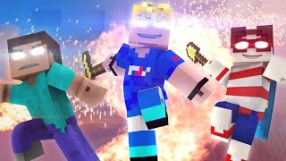 ♫ Wanted Men ♫ (Minecraft Original Music Video) - FrediSaalAnimations