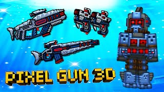Pixel Gun 3D Update 17.7 - Подводный Спецназ / UNDERWATER SPEC OPS (507 серия)