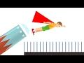 HOW FAR CAN A KID FLY? (Happy Wheels)