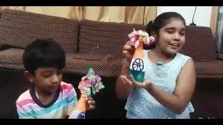Kids Handmade Home Decor - Bottle Painting(Republic Day Special)