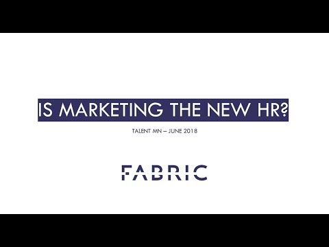 Fabric Speaks at Talent MN