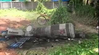 satellite fell down to earth in Moonupeedika