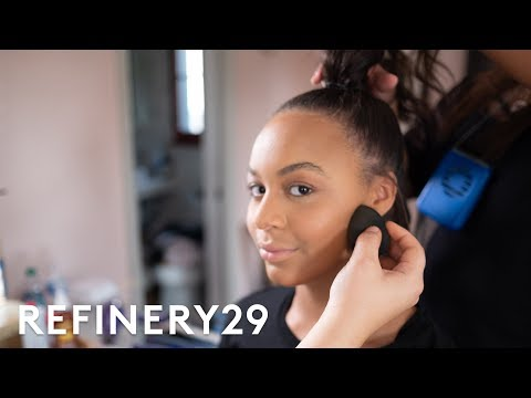 Get Ready With Nia Sioux For The Streamy Awards   Get Glam VR   Refinery29