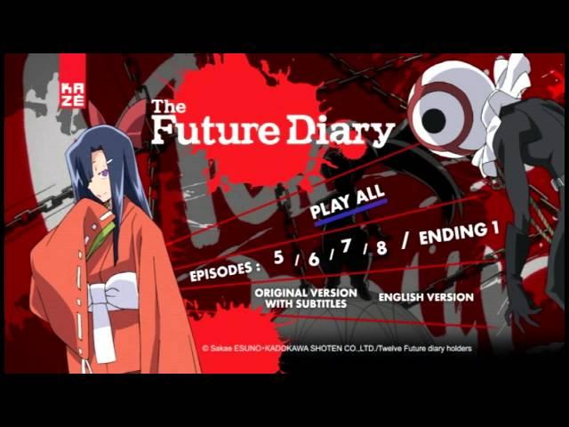 DVD Review Mirai Nikki Future Diary Part 1