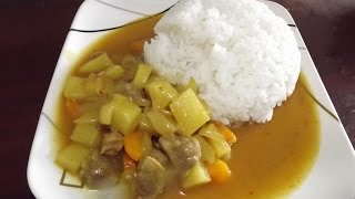 17.  How To Cook Korean Pork Curry  (korean Kare, 카레)