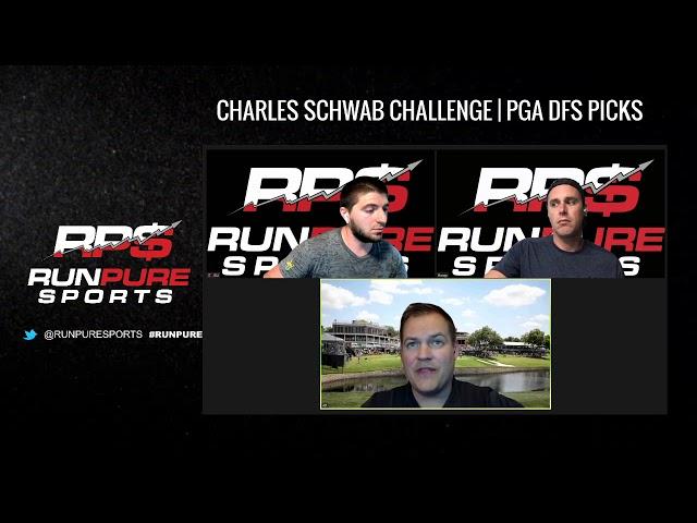 CHARLES SCHWAB CHALLENGE   PGA DFS DRAFTKINGS AND FANDUEL PICKS 6/11/20