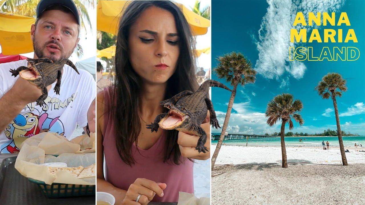 Am mancat ALIGATOR | Cum arata cea mai frumoasa insula din Florida ??