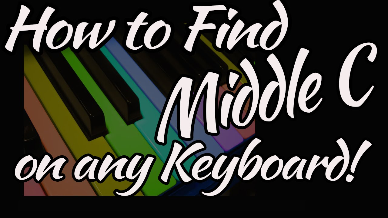 How to find middle c on any size keyboard full size piano 36 key how to find middle c on any size keyboard full size piano 36 key 49 key 61 key casio ccuart Gallery