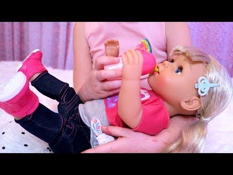 БЕБИ БОН Эмили Все серии СБОРНИК КАК МАМА Кристина играет в  куклы  BABY BORN