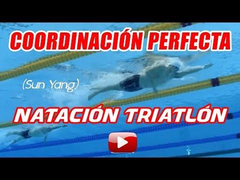 natacion crol tecnica perfecta Sun Yang