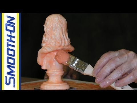 Mold Making Tutorial: Making a Silicone Brush On Mold