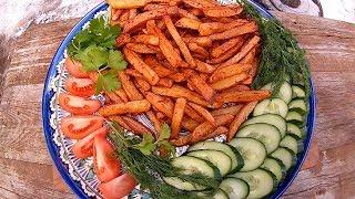видео Любимое блюдо: картофель фри