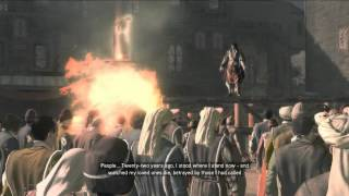 Assassin's Creed 2 - Savonarola's Death & Ezio's Speech [HD]