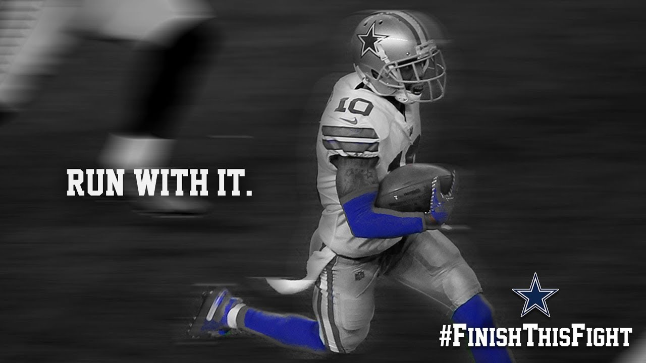 info for 84706 4ae3d Run With It #FinishThisFight   Dallas Cowboys 2018-2019