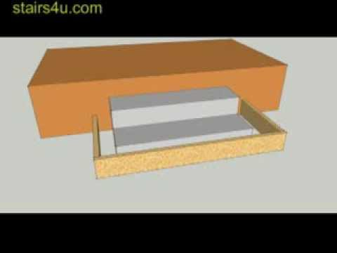 Don't Pour New Concrete Stairs Over Old Concrete Stairs - Construction Tips